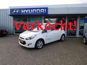 Demo Hyundai ix20 verkocht