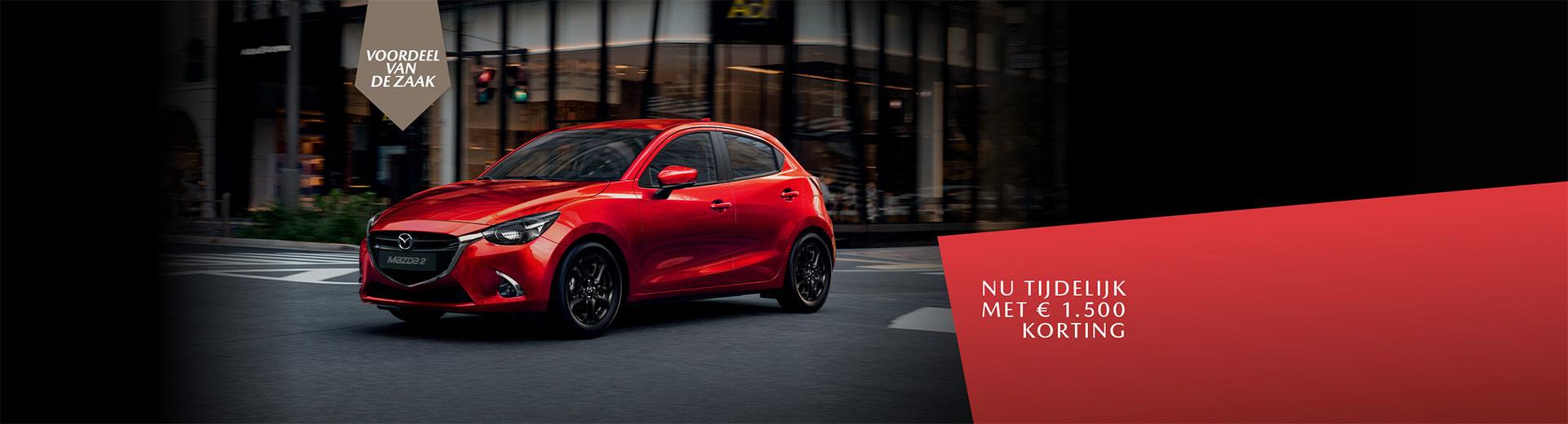 Banner vernieuwde Mazda2
